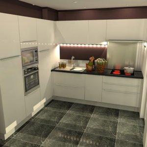 Projet 3D cuisine en angle
