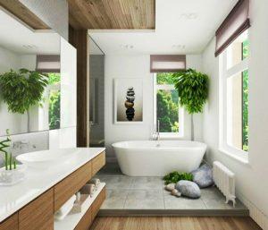 Salle de bain style Zen