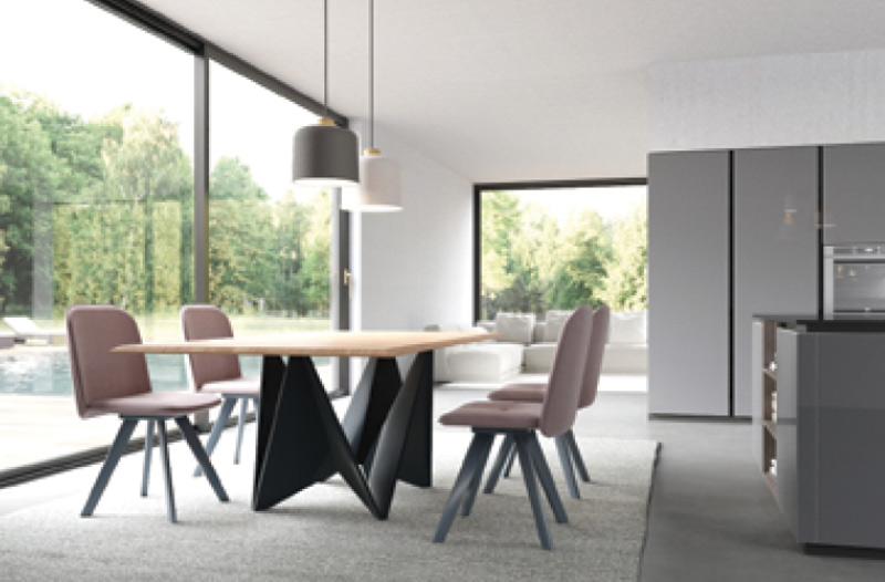 Tables et chaises Armony Cucine collection 2018